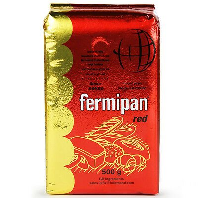 Yeast Dry Active Fermipan Red - Carton 10 pcs