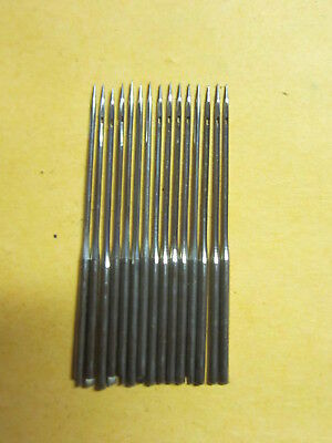 Weed FF & Domestic Notched Top 1x4  Sewing Machine Needles, Sz 14, Qty 15