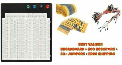 Breadboard Protoboard T/P Tie-point 3220 Hole Prototype Board Value Pack