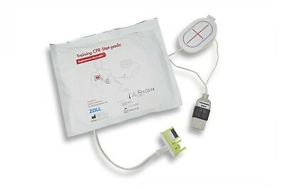 ZOLL Training CPR Stat-Padz® Electrode W/Cable P/N 8900-0190