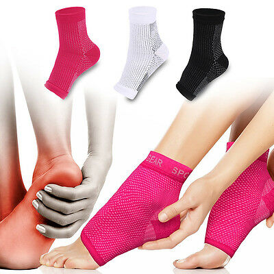 3 Colors Plantar Fasciitis Socks Arch Support Compression Foot Care Sock