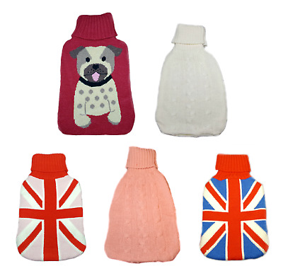 Hot Water Bottle Cover - Various Designs Available!