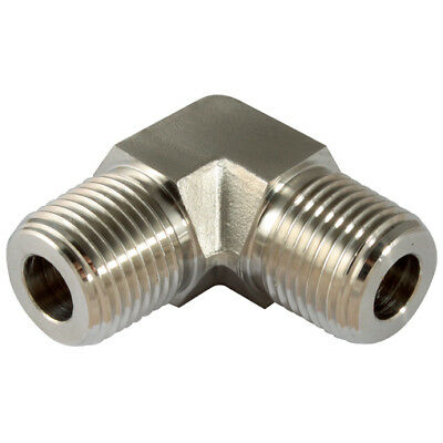 "PPME-04, 1/4"" NPT MALE 316 ELBOW, Panam 316 Instrumentation Pipe Fittings"