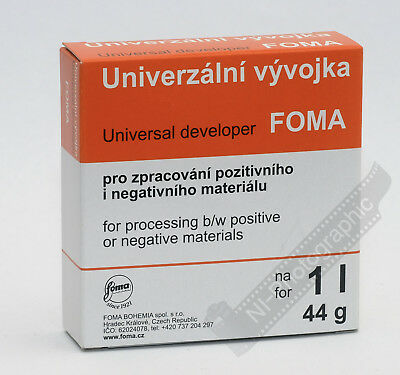 Foma Fomapan Universal Developer Powder Black & White Film Developer(to Make 1L)