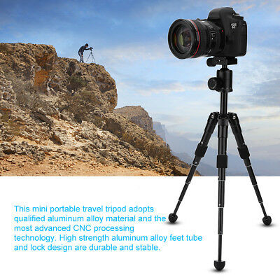 Professional QQ66 Camera Tripod Stand Holder With Ball Head for DSLR Canon Nikon
