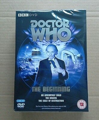 Doctor Who: The Beginning DVD Box Set BRAND-NEW & SEALED