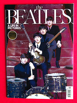 THE BEATLES - A LIFE IN PICTURES - BOOK - UNCUT 2018 Paul McCartney