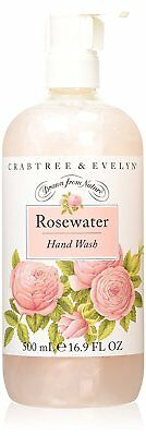 Crabtree & Evelyn Rosewater Hand Wash 500 ml