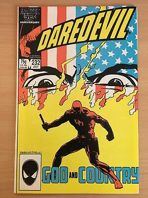 Daredevil #232 VFN Frank Miller Born Again Marvel Comics