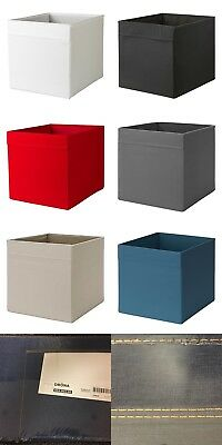 Ikea Drona storage boxes baskets holder for Expedit Kallax unit PLAIN Colour NEW & IKEA DRONA STORAGE boxes baskets holder for Expedit Kallax unit ...