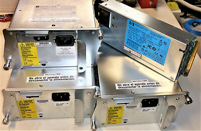 Servernetzteile: 3x Cisco Model DCJ2804-01P / 1x HP Model DPS-460EB A