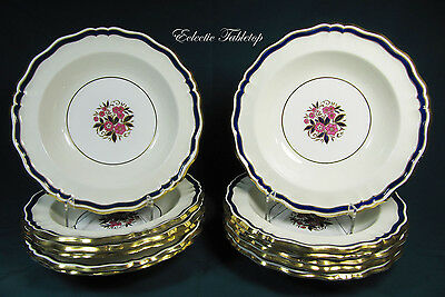 Twelve (12) Minton for Tiffany & Co. Soup Bowls - H4345