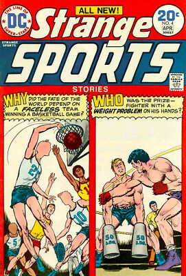 STRANGE SPORTS STORIES #4 VG, DC Comics 1974