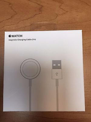 Genuine APPLE Watch USB Magnetic Charging Cable 1m/3.3ft A1570 With Retail Box