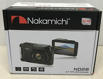 "ND28 2.7"" 1080p HD Dashboard DVR Car Dash Cam Accident Witness Camera Nakamichi"