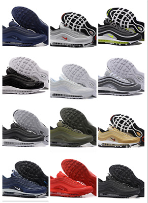 Rare Men'S Air Max 97S Edition Bullet Trainers Gym Shoes  All Sizes In Box