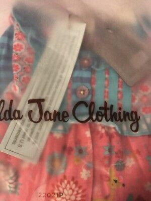 NWT! MATILDA JANE ONCE UPON A TIME Ruffle PAJAMAS, 6-12 Mos, Free Shipping!