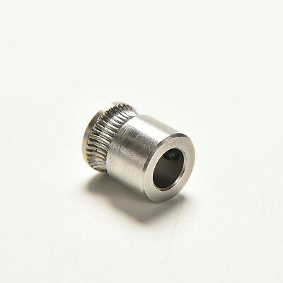 MK8 Extruder Drive Gear Hobbed Stainless Steel For Reprap Makerbot 3D Printer Aq