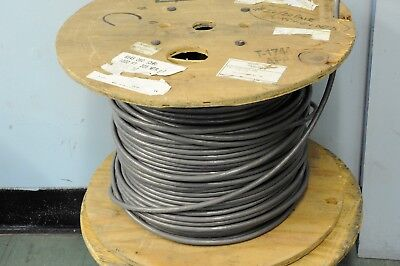 One Approx 600' reel of BELDEN 9545 #22/20 pair stranded cable in gray sheath