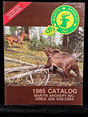 VINTAGE COLLECTIBLE Martin Archery 1985 Catalog (84 pgs.) Hunting Compound Bows