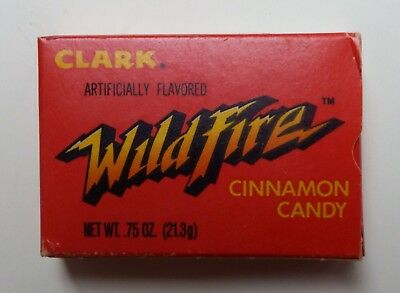 Discontinued D L Clark Wildfire Cinnamon Candy Beatrice Foods Box Full