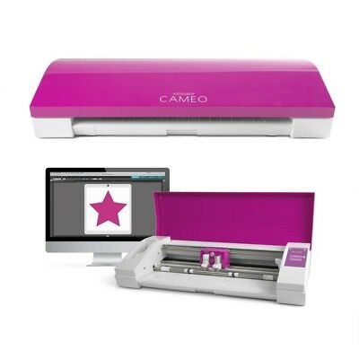 "SILHOUETTE CAMEO® 3 CONTOUR / PLOTTER CUTTER (12"") in Limited Edition Pink"