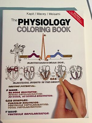 THE PHYSIOLOGY COLORING Book by Esmail Meisami, Robert I. Macey ...