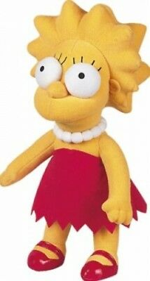 United Labels 1000038 - Simpsons, Plüschfigur: Lisa, 31cm (Spielware) NEU