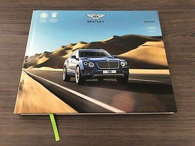 OFFICIAL BENTLEY BENTAYGA BROCHURE 2018 USA EDITION Coffee Table