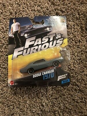 MATTEL The Fast & Furious Diecast Single Car #9/32 1970 Dodge Charger NEW