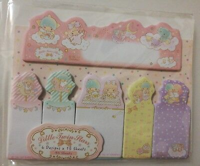Kawaii Sanrio little twin stars Post-it note sticky memo flag notes