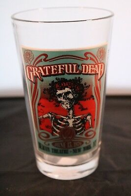 Grateful Dead Beacon Theatre NY 1976 Concert Poster 16oz Collector Pint Glass