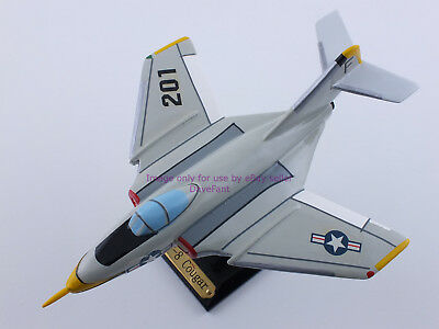 F9F-8 Cougar Airplane Wood Display Model - New - FREE SHIPPING