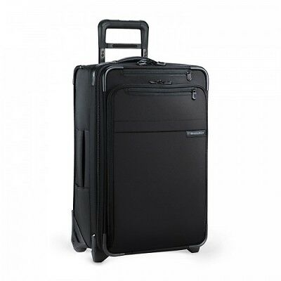 New Briggs & Riley U122Cx-4 Baseline Domestic Carry-On Expandable Upright Black