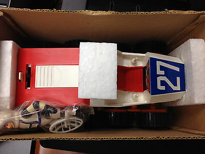 * ULTRA Rare * Sears Battery Powered SPACE MOBILE with ASTRONAUT Figure NIB