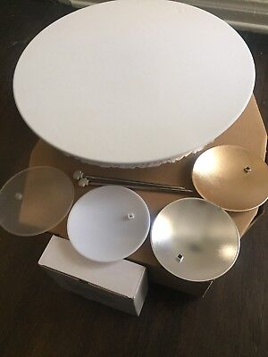 Elinchrom Minisoft 44cm White Beauty Dish with accessories.