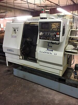 Eurotech 7 Axis Turn/Mill Machining Center 420 SLL 1997