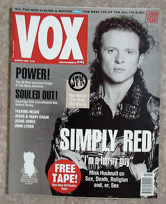 Vox-Mar 1992-Simply Red,david Byrne,jesus And Mary Chain,andrew Strong