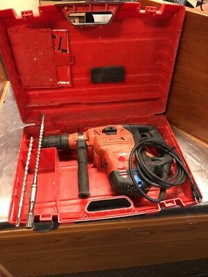 Hilti TE 60 ATC AVR Heavy Duty Rotary Hammer Drill with 2 bits and Case 70/80/76