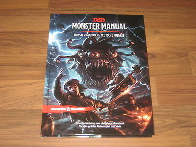 D&D 5te Edition Monster Manual  Monsterhandbuch HC deutsch WotC Nine 2017 Neu