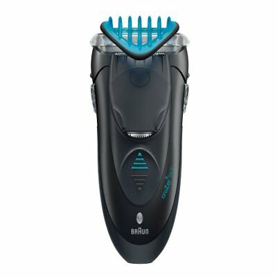 Braun Cruzer 5 Electric Shaver / Styler / Trimmer, 3-in-1 Ultimate Hair Clipper,