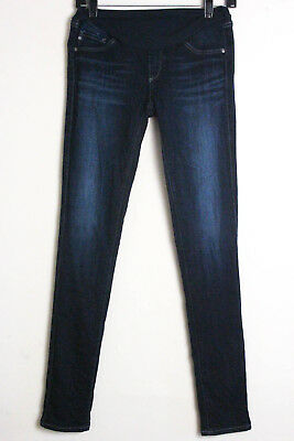 AG Adriano Goldschmied Super Skinny Maternity Jeans Size 25 Full Belly Panel