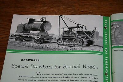 1936 Caterpillar Special Attachments for Special Needs