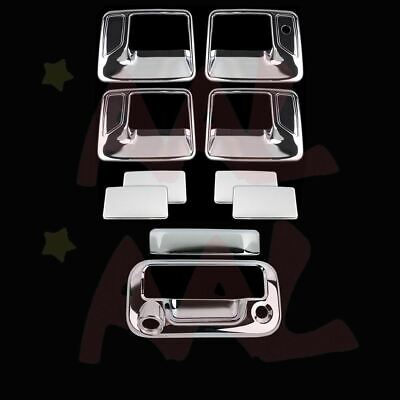 Aal For Ford F-250/f-350 2008 09 10 11~16 Chrome Covers 4 Door Handles Tailgate