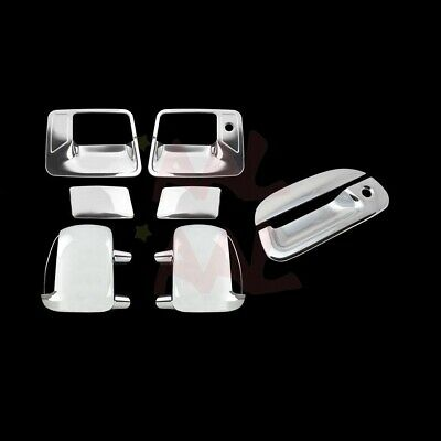 AAL For Ford F-250/F-350 99-07 Chrome Mirror Door Handle Tailgate Cover W/O Pkh