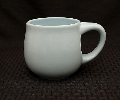 Starbucks 2006 Mug Baby Blue Chubby Pot Belly Mug Cup 16oz Excellent Condition!