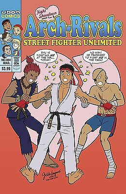 Street Fighter Unlimited #4 Cover C  1 In 10 Copy Incv Variant Udon 092517
