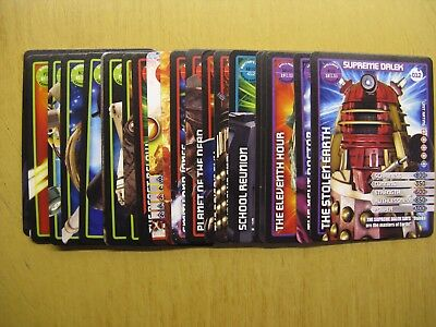 Doctor Who Collectors Cards - Monster Invasion X 23