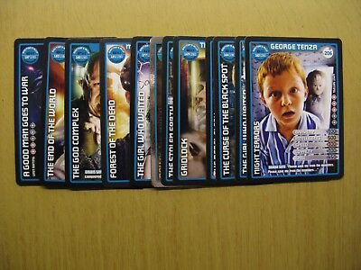Doctor Who Collectors Cards - Monster Invasion Extreme X 12 (Doctor's Ally)