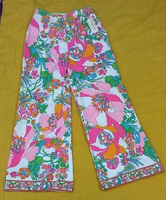 Vintage 1970s Mr Dino polyester pants size 14 new tags mod psychedelic women 60s